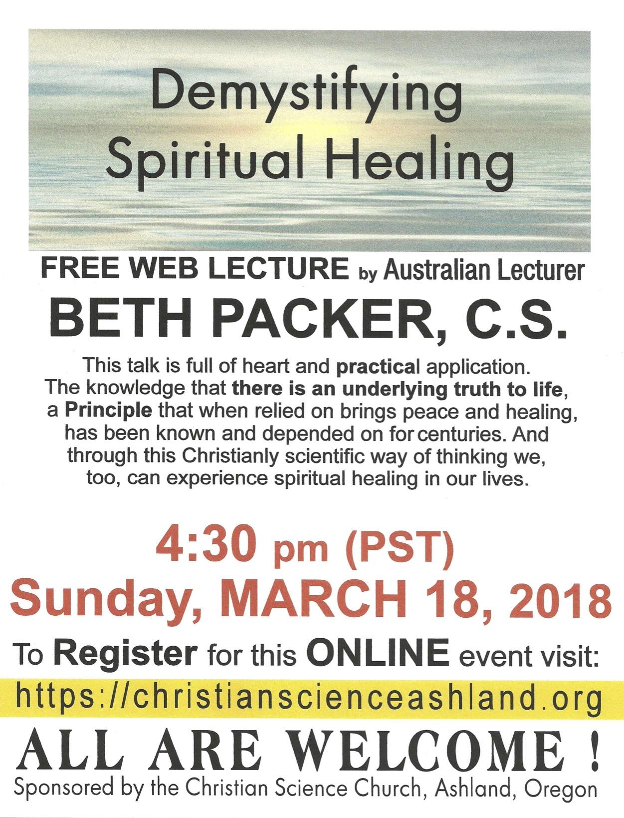 Demystifying Spiritual Healing
